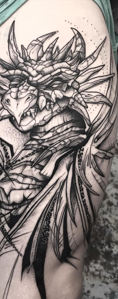 Dragon Sleeve II