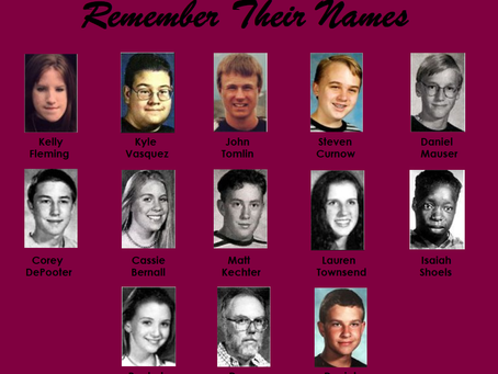 Never Forget Those Lost at Columbine