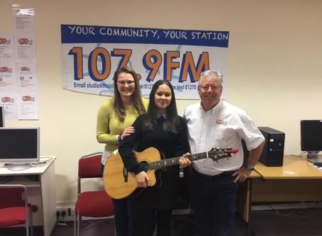 Cathy Jain at The Cat 107.9FM