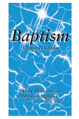 Baptism - Children's Edition