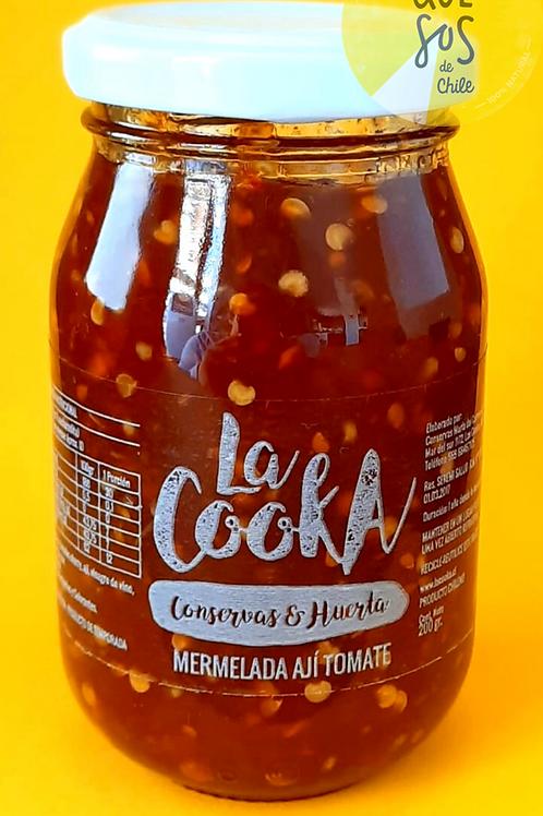 Mermelada Ají Tomate La Cooka