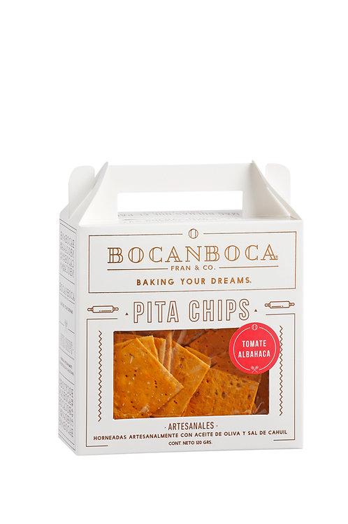 Pita Chips Tomate Albahaca 120 grs.