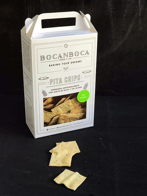 Pita Chips Finas Hierbas