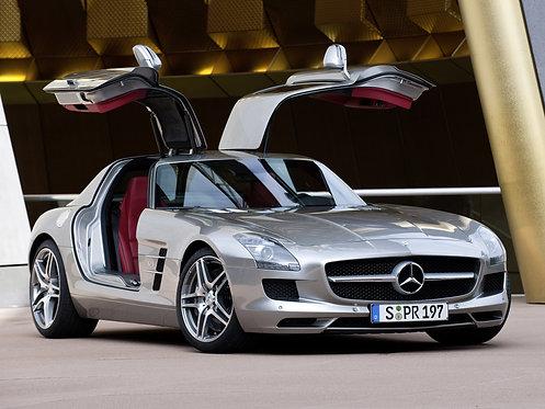 Mercedes Benz SLS AMG ECU Tuning Software