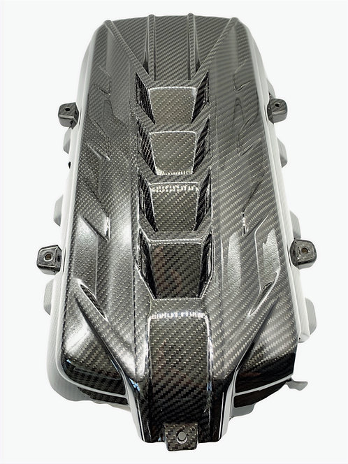 Carbon Fiber C8 Engine Cover