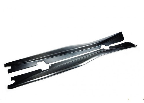 C7 Z06 Carbon Fiber Side Skirts