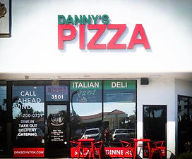Danny's Pizza Kitchen Boynton Beach Flor