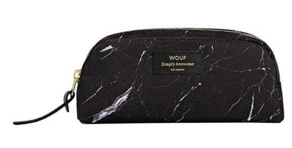 Small Beauty Case Black Marble