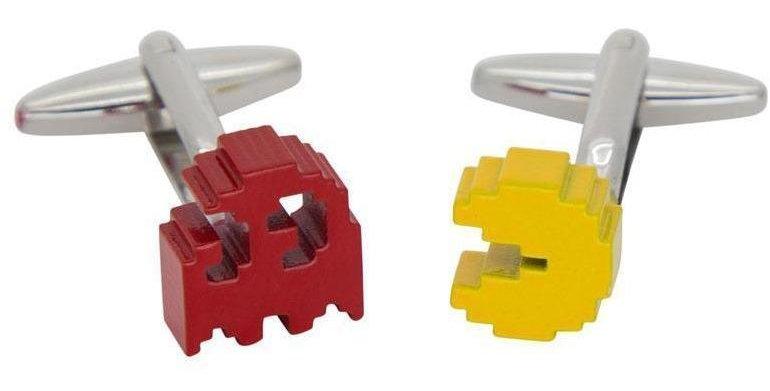Colour PacMan Cufflinks