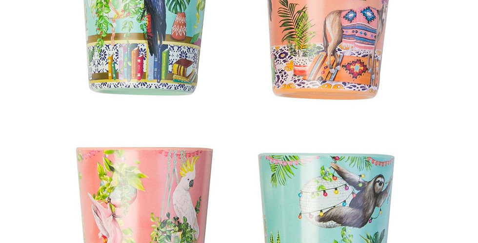 Cup Set - Tropical Abode