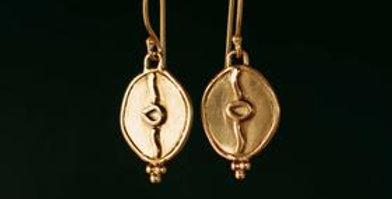 The Secret Earrings - Love/Gold