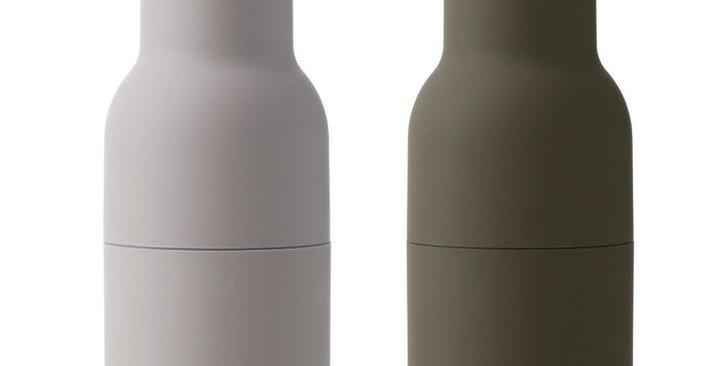 Menu Bottle Grinders (Hunting Green/Beige)