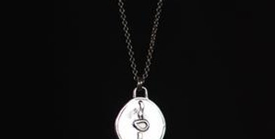 The Secret Necklace - Love/Silver