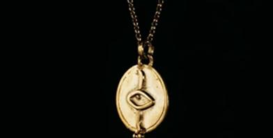 The Secret Necklace - Love/Gold
