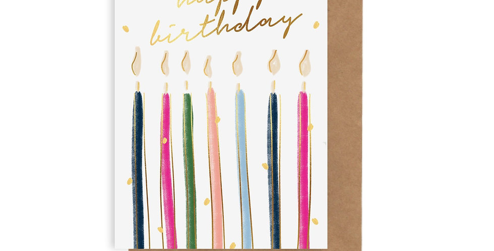 Card - Birthday Candles