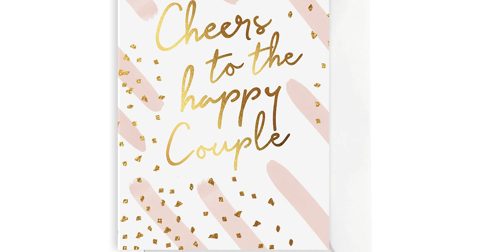 Card - Cheers to the Happy Couple