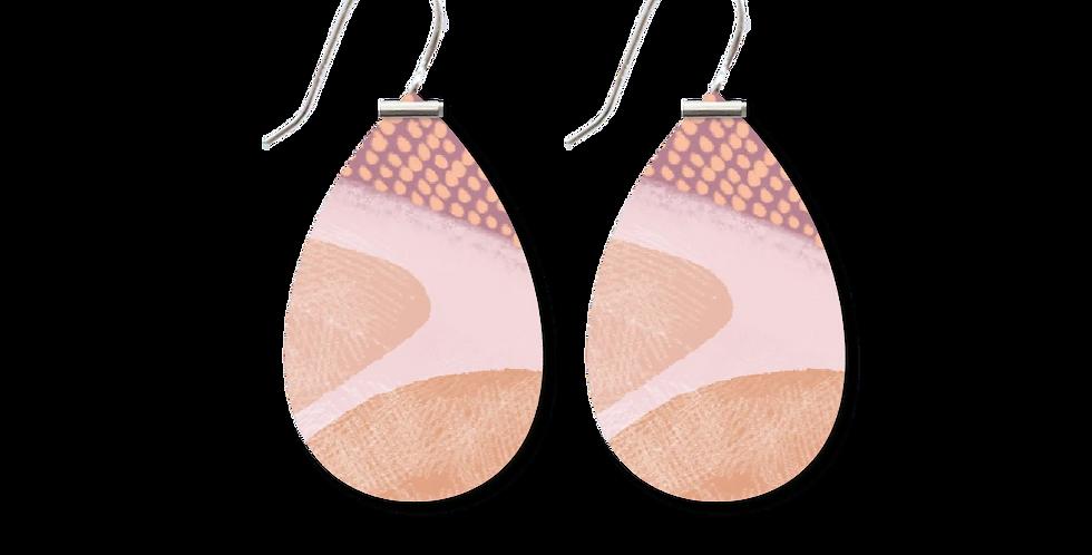 Classic Akweke Stories Medium Tear Drop Earrings