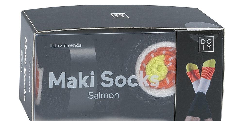Maki Socks (Salmon)