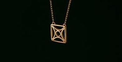 Bessa Arches Necklace - Gold