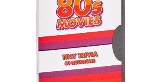 Tiny Film Trivia Game - 80s Movies