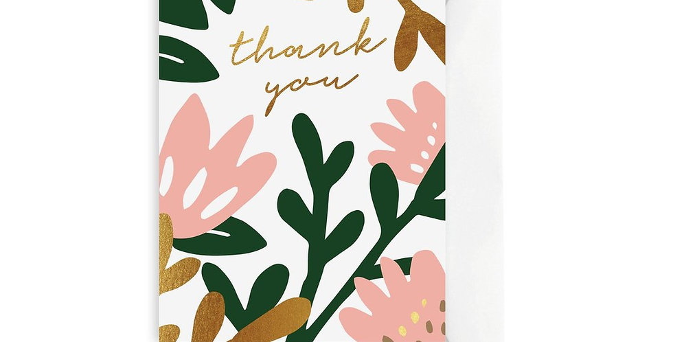 Card - Tropical Thank You