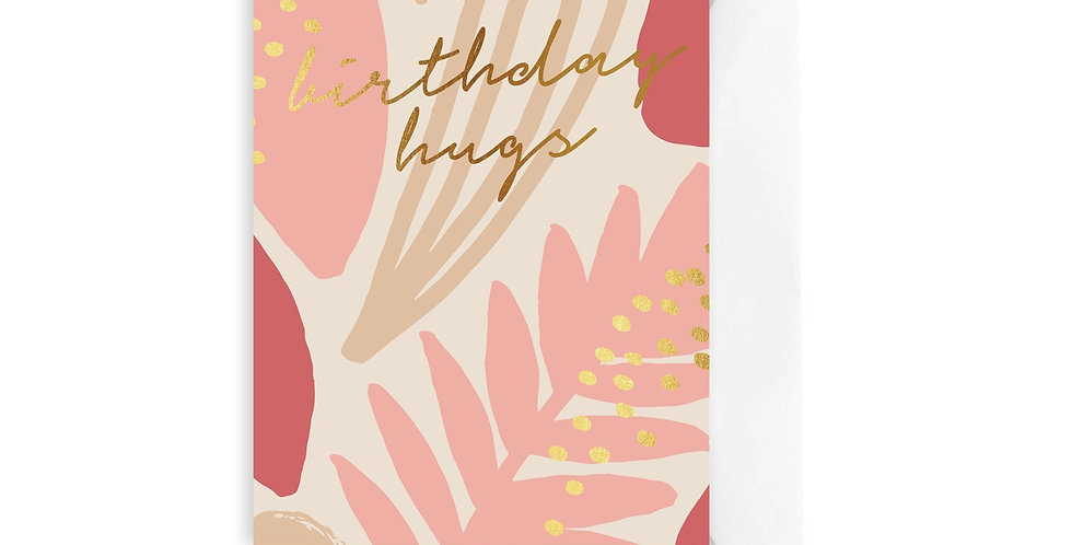 Card - Terracotta Birthday Hugs