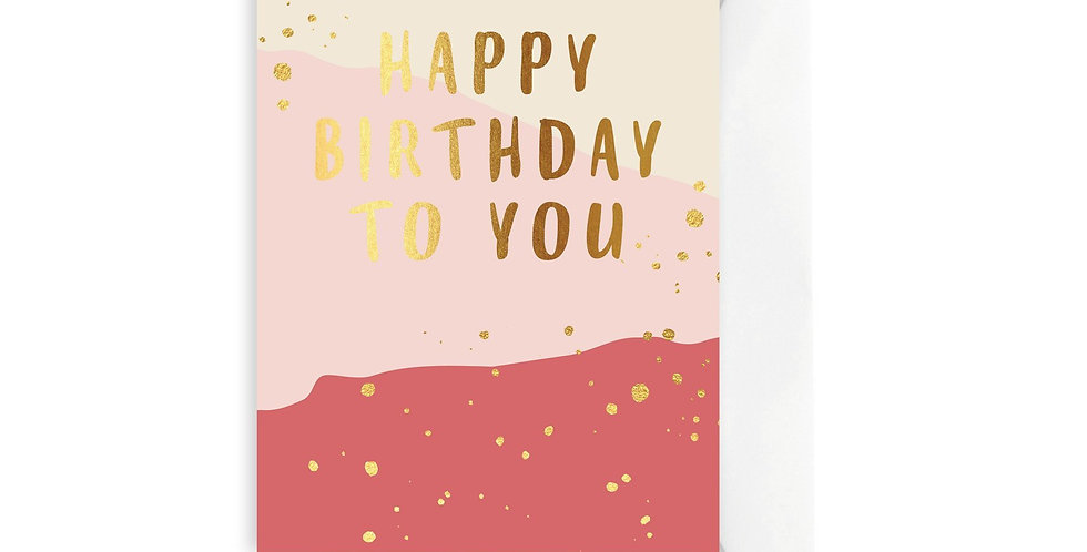Card - Harvest Happy Birthday to You