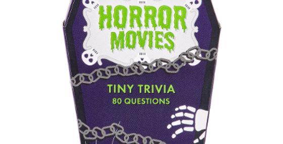 Tiny Film Trivia Game - Horror Movies