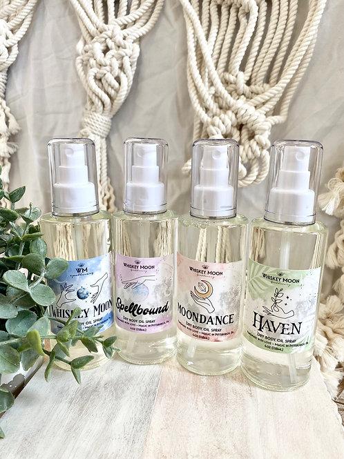Dry Body Oil Spray (4oz)