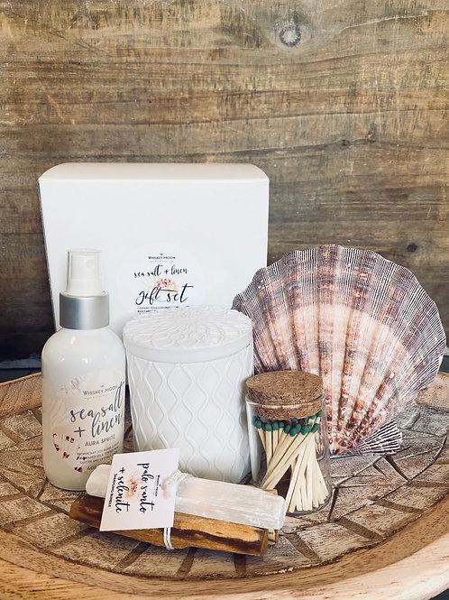 Sea Salt & Linen Gift Set