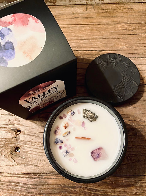 Valley of Flowers Wood Wick Candle