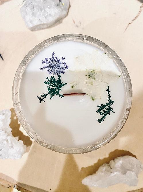 Black Currant & Jasmine Lotus Candle