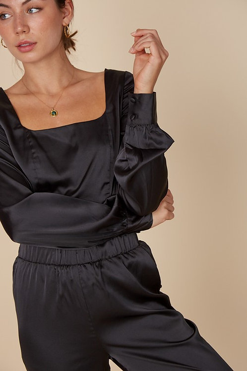 Almost Famous Satin Top