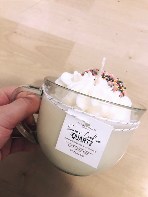 Sugar Cookie Soy Crystal Candle