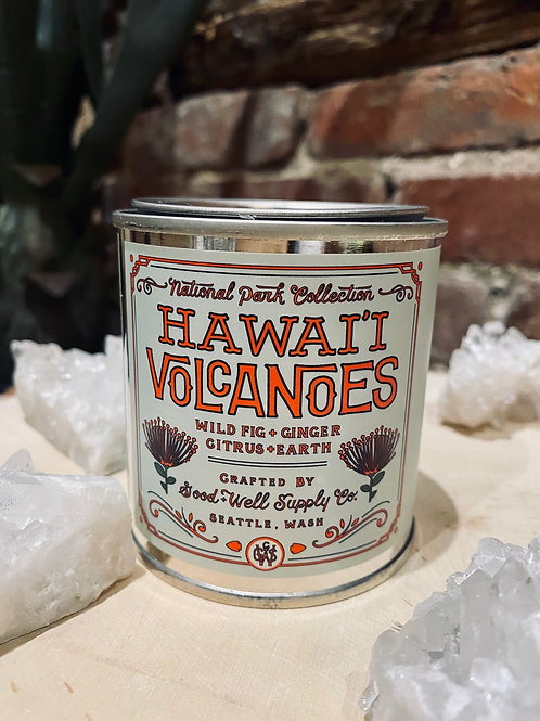 Hawaii Volcanoes Soy Candle