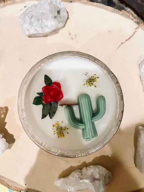 Cedarwood & Lime Agave Lotus Candle