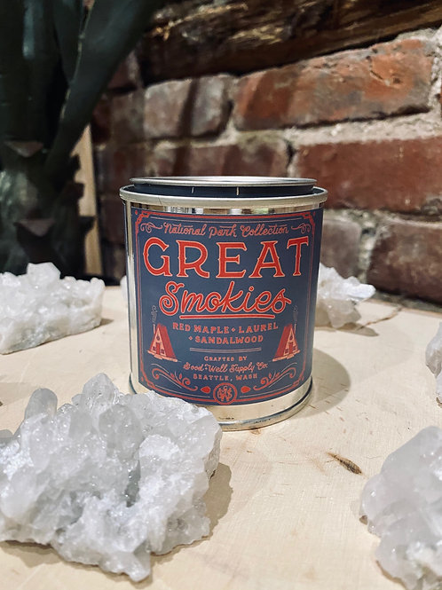 Great Smokies Soy Candle