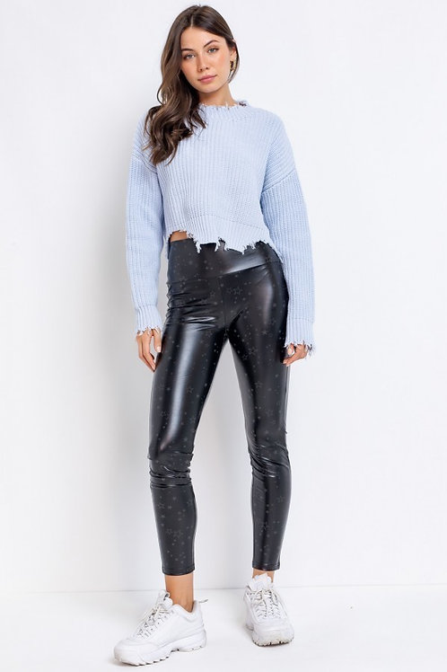 Spellbound Faux Leather Leggings