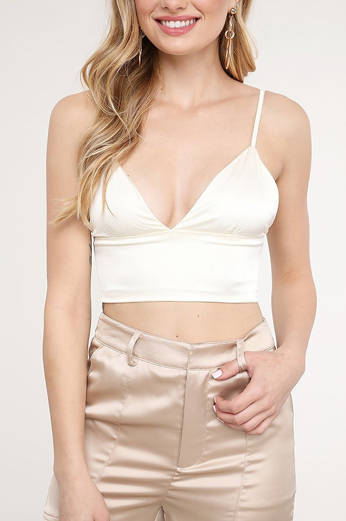 Champagne Wishes Satin Top