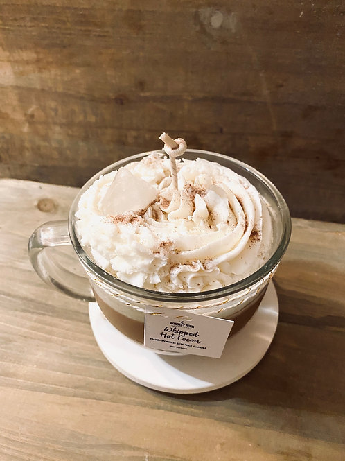 Whipped Hot Cocoa Latte Candle