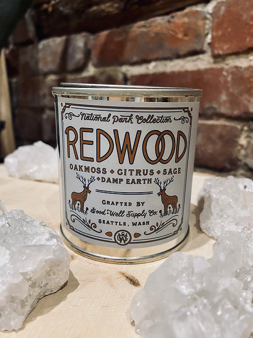 Redwood Soy Candle