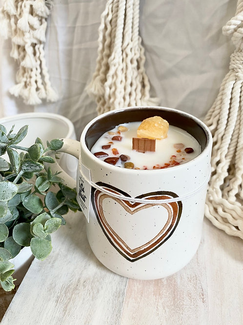 Wild Heart Mug Candle