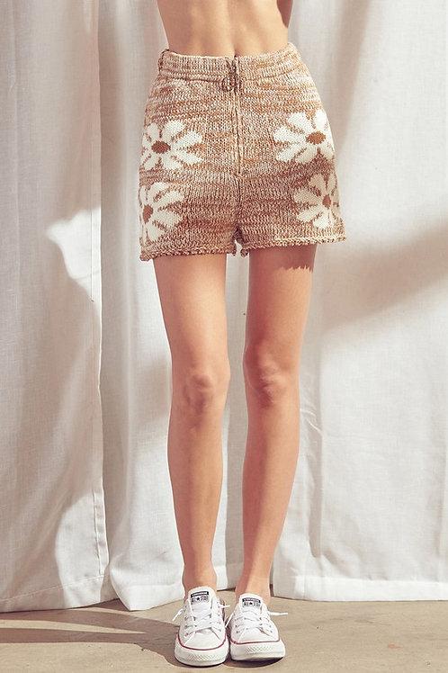 Dazed Out Knit Shorts