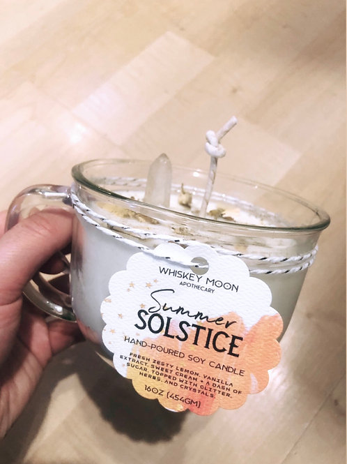 Summer Solstice Soy Candle