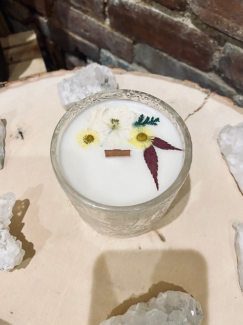Burnt Sugar & Vanilla Lotus Candle