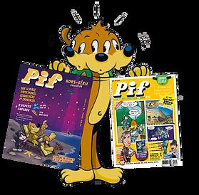 4 Pif le Mag + 2 Hors série | Nouvel abonnement ou offre de Réabonnement