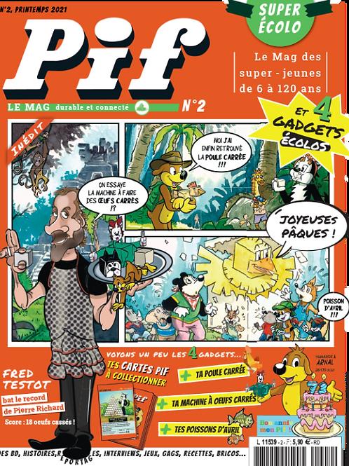 Pif le mag - n°2 - Avril 2021 version digitale