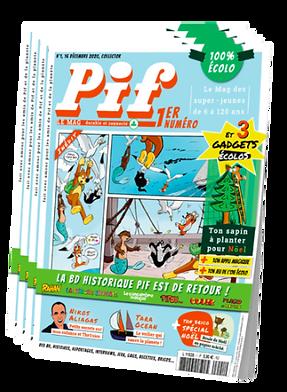 Offre d'abonnement annuel à Pif Le Mag | Ton abonnement débutera dès le numéro 2