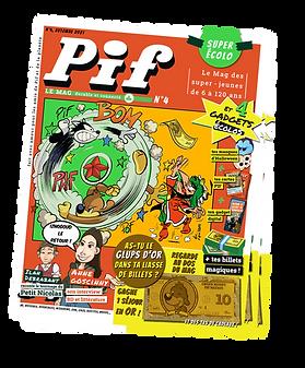 4 Pif Le Mag | Nouvel abonnement à compter du numéro 5