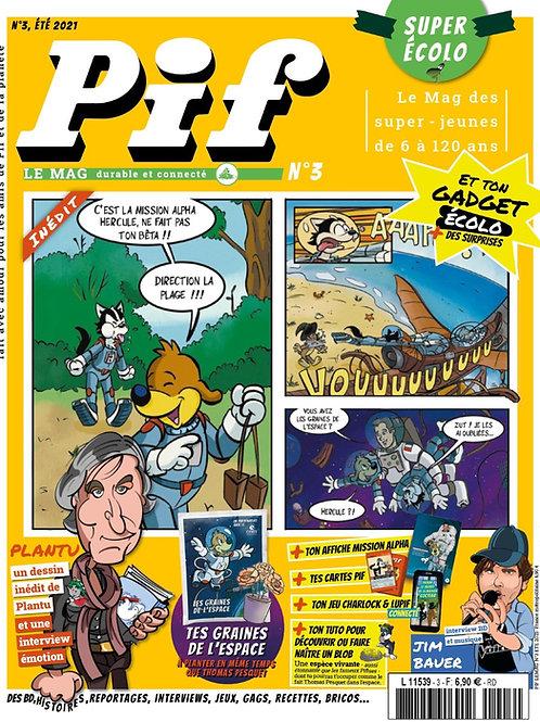 pif le mag - numéro 3 - Juillet 2021